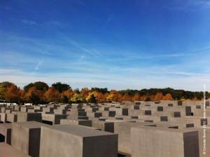 Memorial dos Judeus Assassinados na Europa(Foto: Dulcineia Gomes)