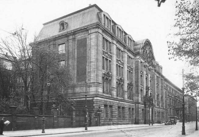 Hotel Prinz-Albert por volta de 1930.