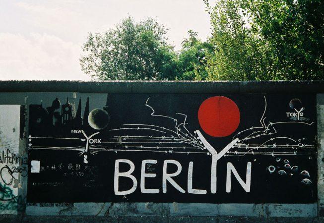 Muro de Berlim, parte da East side gallery. (Foto: Dulcineia Gomes)
